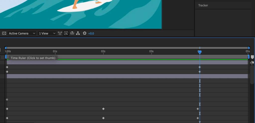 How to add keyframes in After Effects - Keyframe Icons