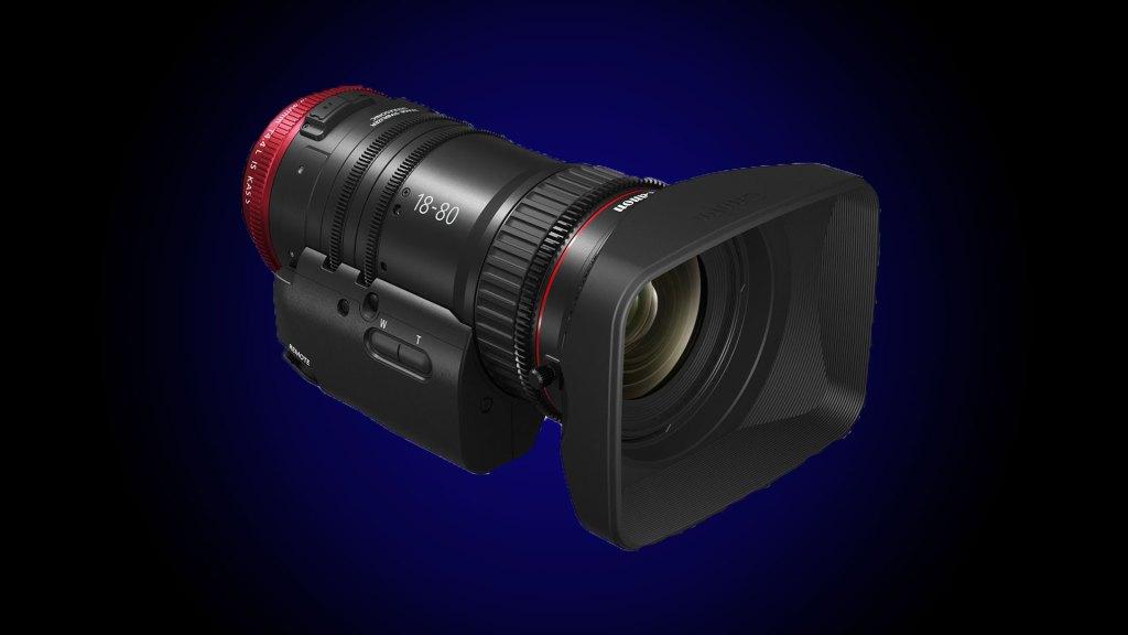 Canon CN-E18-80mm T4.4 L IS KAS S - best lens for blackmagic studio camera