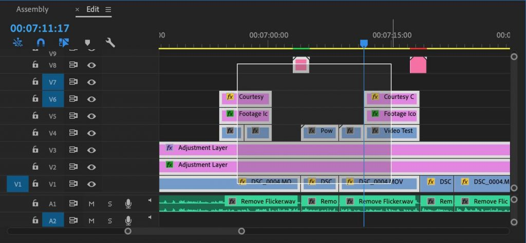 Selection box - how to render video in premiere pro