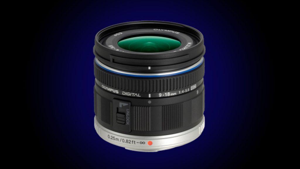 Olympus 9-18mm best lens for blackmagic studio camera