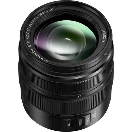 Panasonic Lumix G 12-35mm Lens - best for blackmagic design studio camera