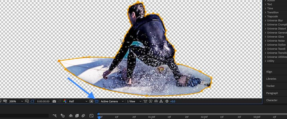 After Effects Alpha Channel Toggle