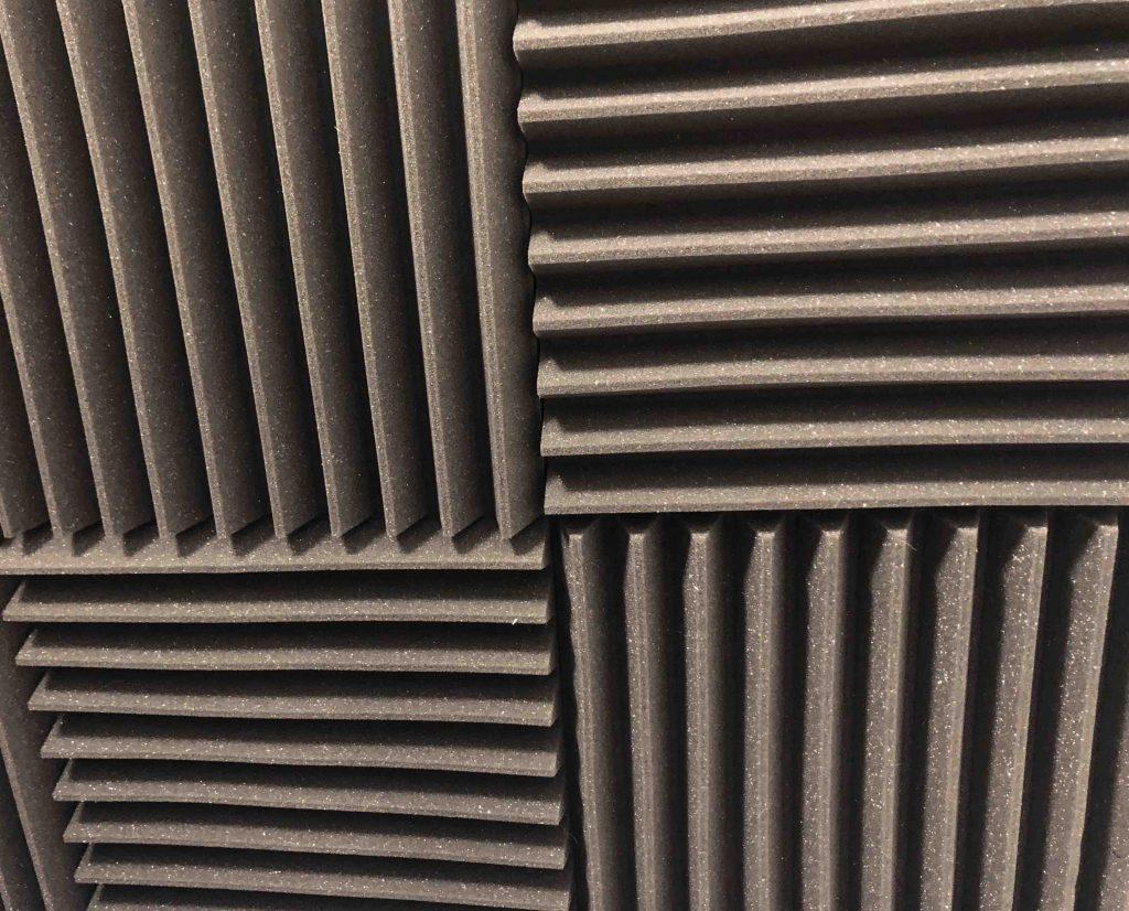 Foam sound reducing panels