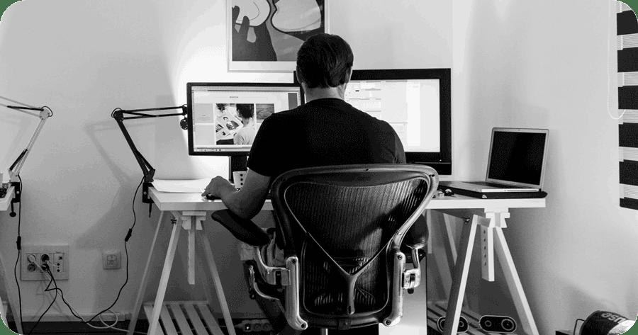 Home Office Video Edit Setup