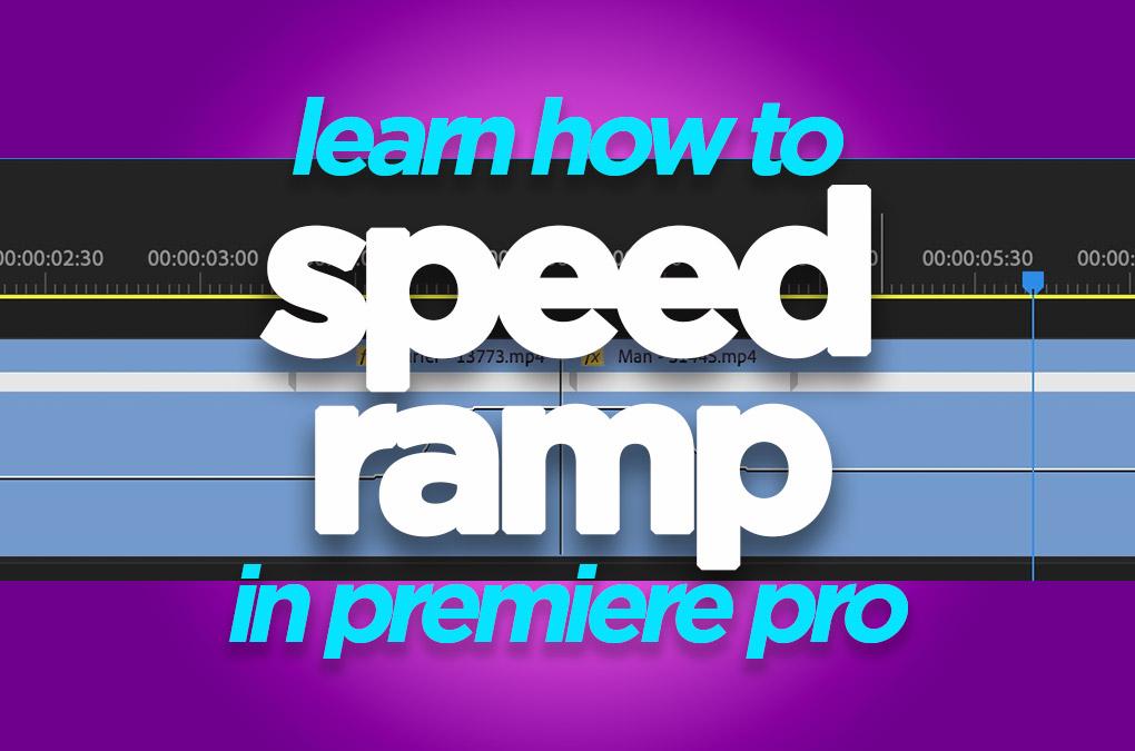 Speed Ramping Premiere Pro