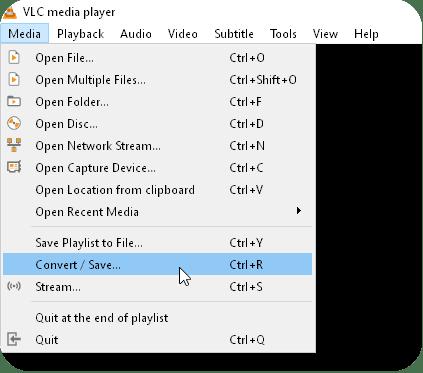 How to Crop Videos Windows 10 VLC Convert/Save