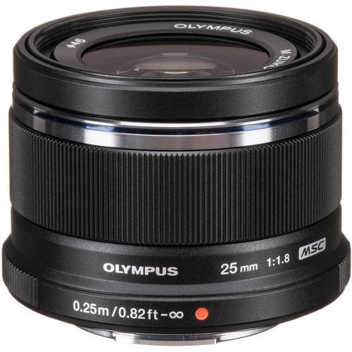 Olympus M.Zuiko Digital 25mm f/1.8 Lens Black Friday Deal