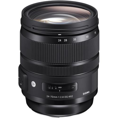 Sigma 24-70mm f/2.8 DG OS HSM Art Lens for Nikon F Black Friday Deal
