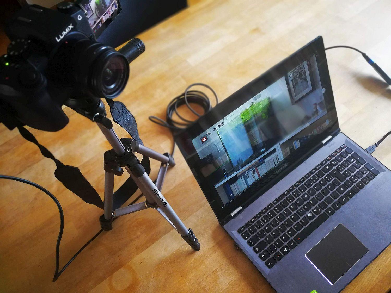 Praxis: Die Digitalkamera im Einsatz als Webcam
