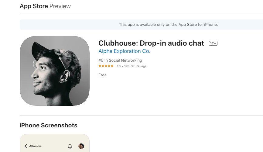 Was zur Hölle: Muss jetzt auch noch Clubhouse sein?
