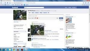 Facebook Zoom - Chrome