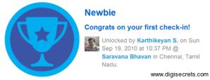 FourSquare-Badge