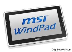 MSI WindPad Tablet