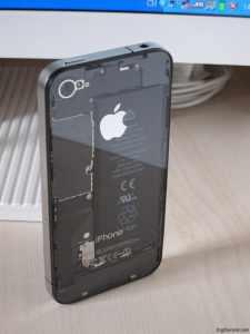Transparent-iPhone-4-back