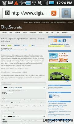 DigiSecrets - Screenshot