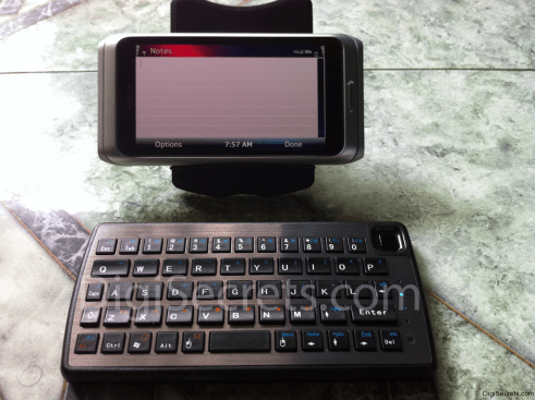 Dual-Connect Slimline Bluetooth Keyboard and Trackpad - E7