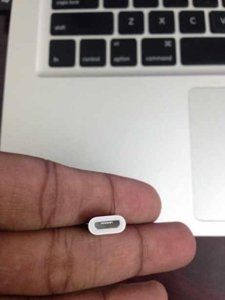 Apple Micro USB to Lightning Adapter (2)