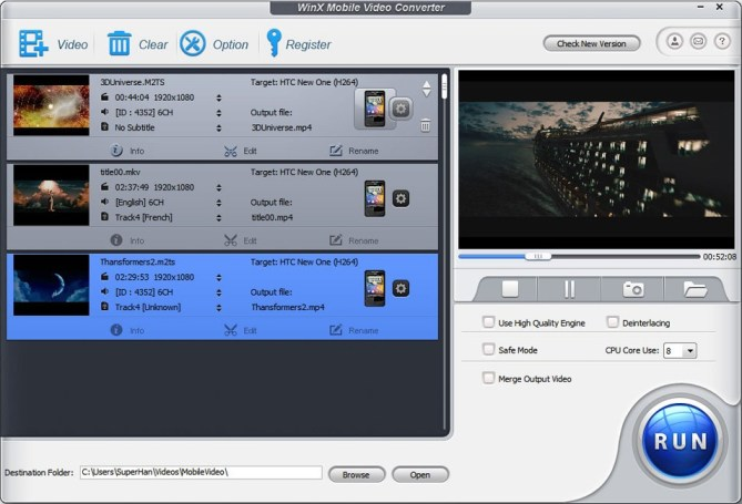 Free Mobile Video Converter for Android Review (2)