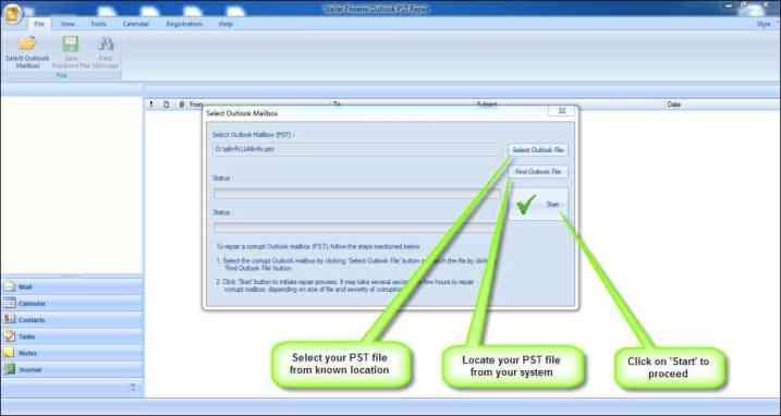 Outlook PST Repair 1