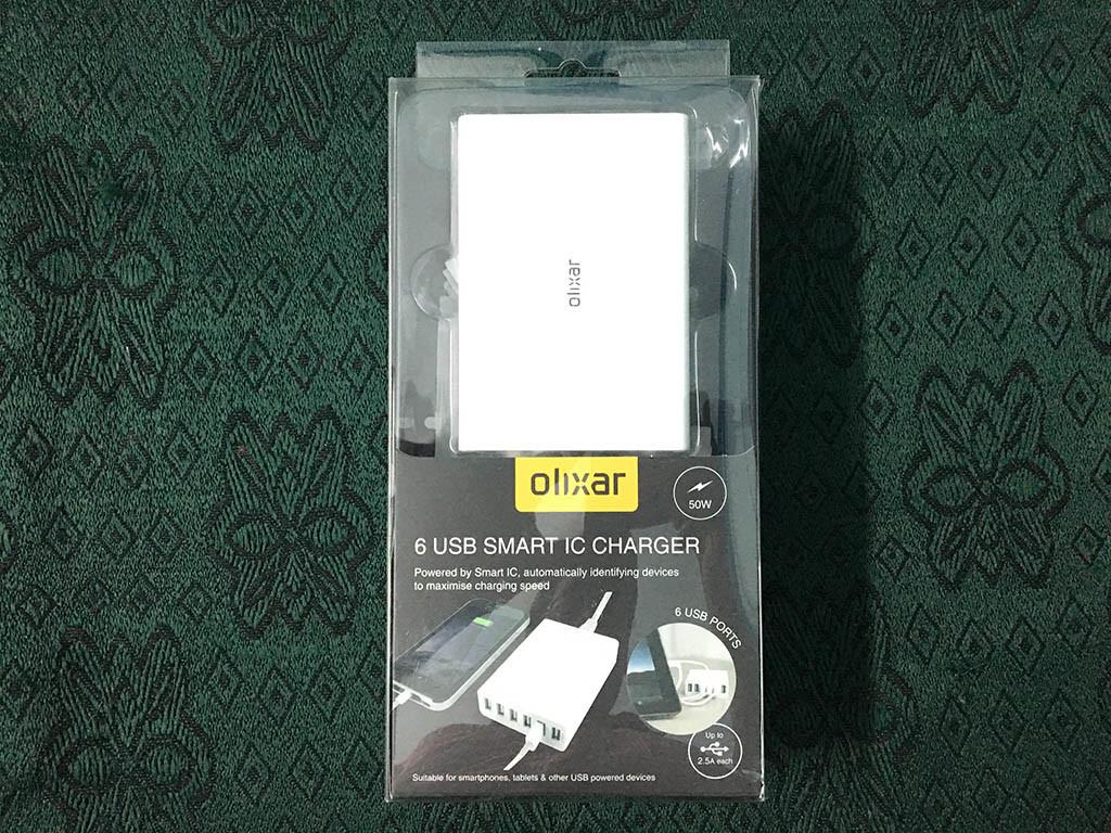Olixar 6 USB Smart IC Charger 1