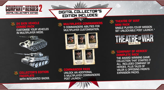 Buy Company Of Heroes 2 Collectors Steam Gift Region Free
