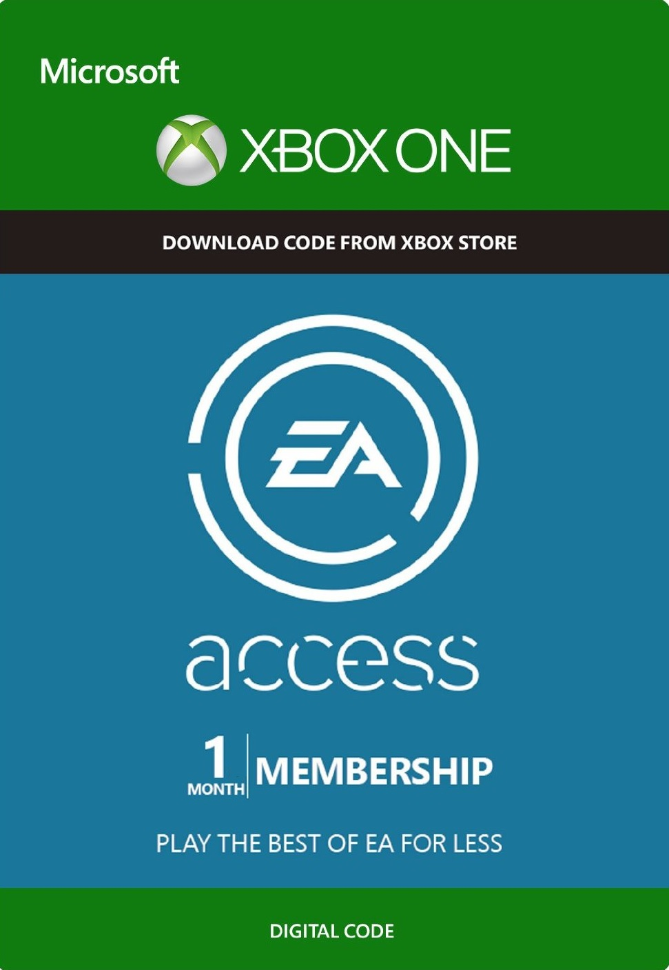 Buy EA ACCESS 1 Month Xbox One Xbox 360 And Download