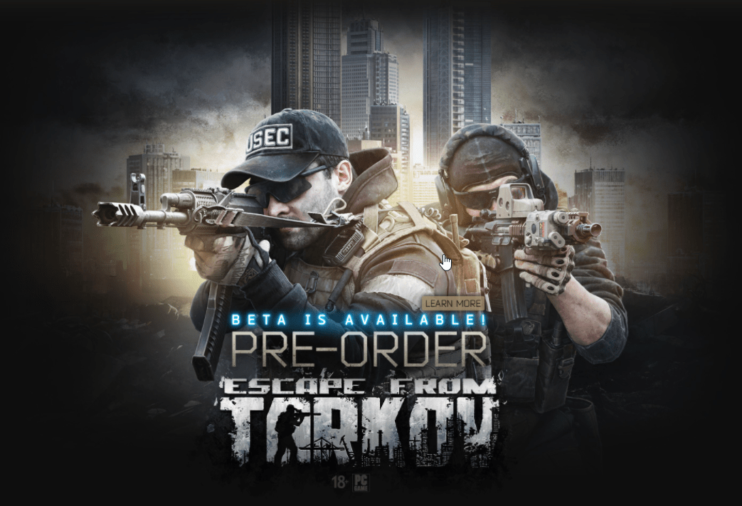 Buy ESCAPE FROM TARKOV Standard OFFICIAL RUCIS And Download