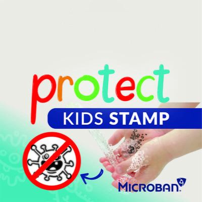 Sello Colop protect kids Covid-19