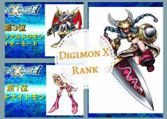 Ganadores de la votación para nuevos Digimon X: LordKnightmon & Minervamon.