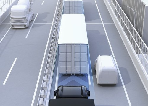 Self-driving lorries may soon be a reality