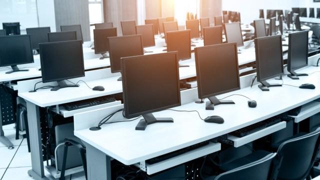 Recruit FYI: Empty Computer Lab