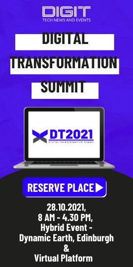 Join Digital Transformation 2021 - 28th October 2021 - Hybrid Event - Dynamic Earth, Edinburgh & Virtual Platform