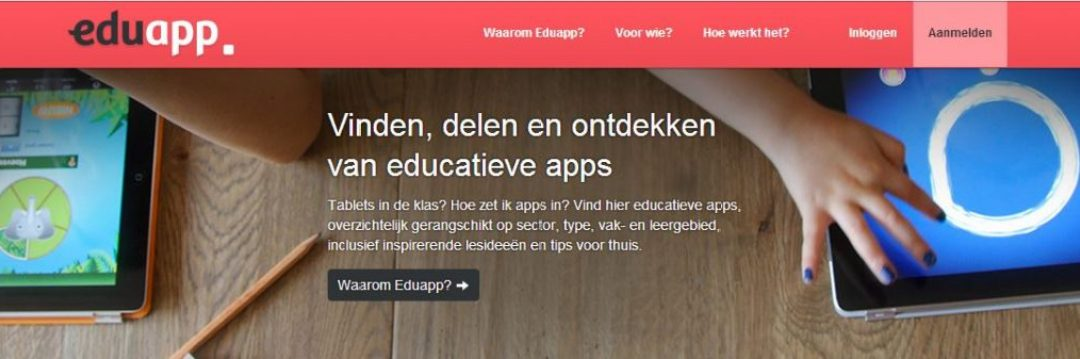 Edu app is vernieuwd !
