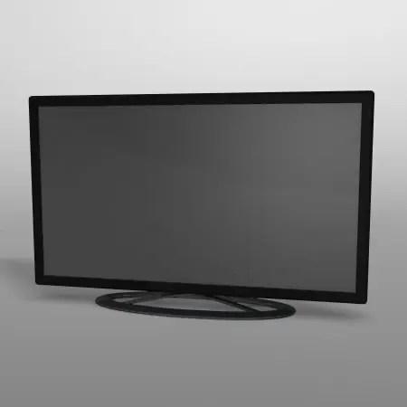 formZ 3D インテリア interior 家電 consumer electronics テレビ television