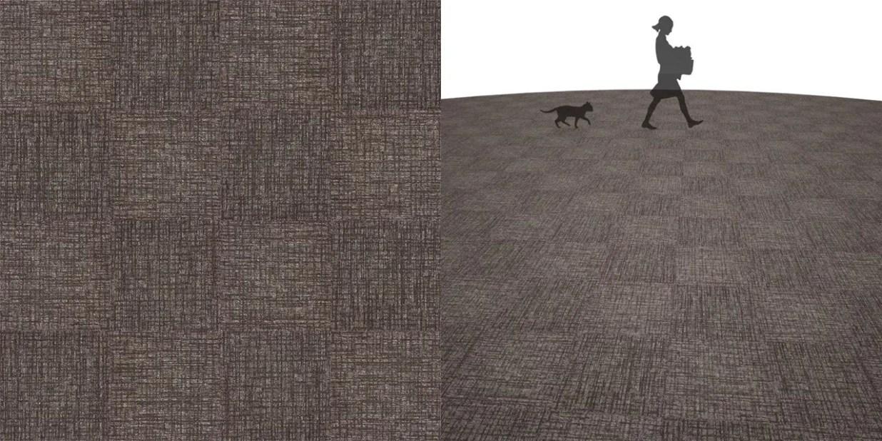 タイルカーペットのシームレステクスチャー丨床材 市松張り丨無料 商用可能 フリー素材 フリーデータ丨サンゲツ NT879