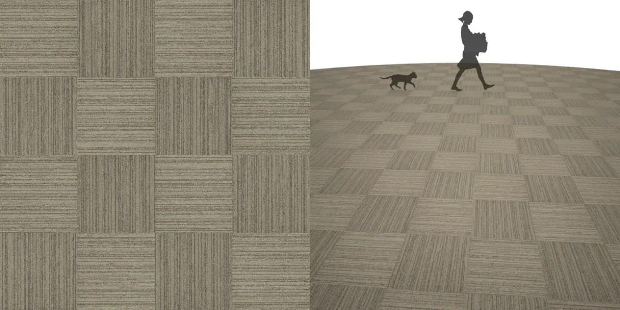 タイルカーペットのシームレステクスチャー丨床材 市松張り丨無料 商用可能 フリー素材 フリーデータ丨サンゲツ NT882
