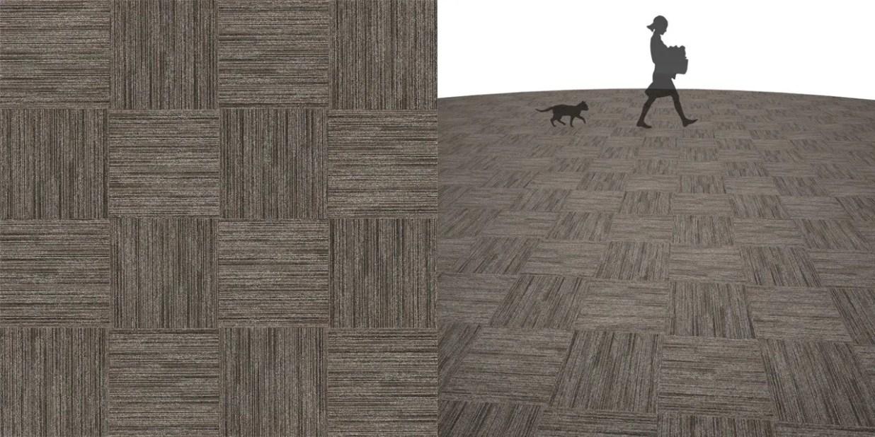 タイルカーペットのシームレステクスチャー丨床材 市松張り丨無料 商用可能 フリー素材 フリーデータ丨サンゲツ NT886