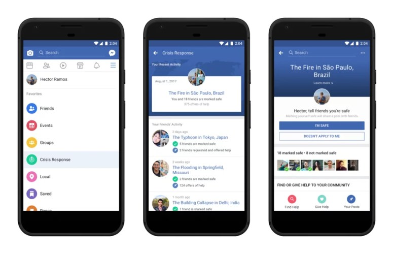 crisis response facebook f8 2018