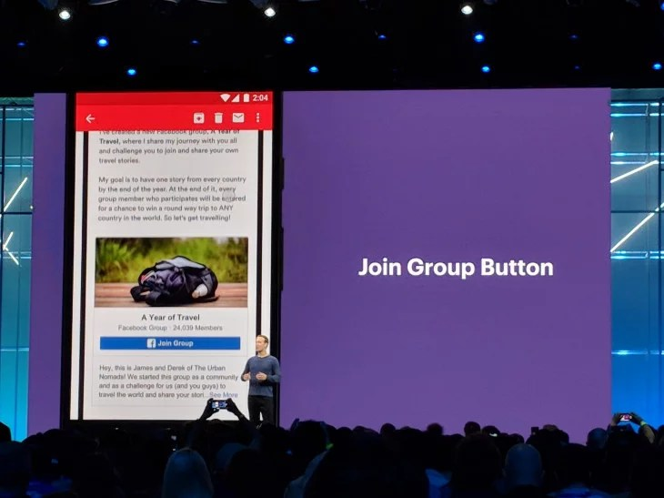 Groups facebook f8 2018
