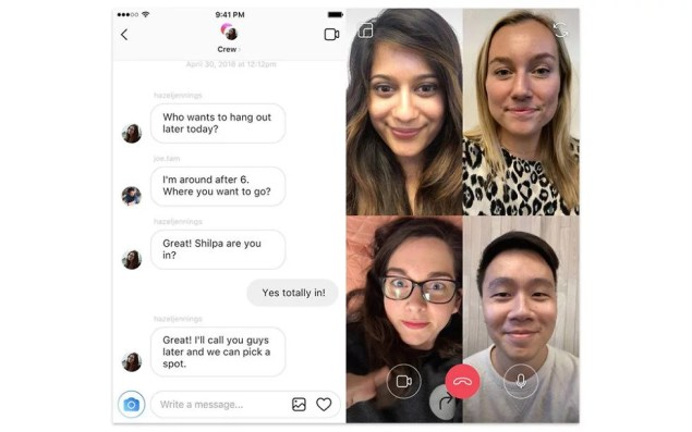 instagram-video-chat f8 2018