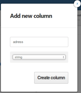 add a column to a table on cartoDB