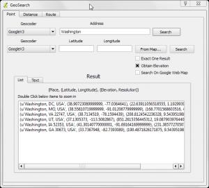 GeoSearch Plugin