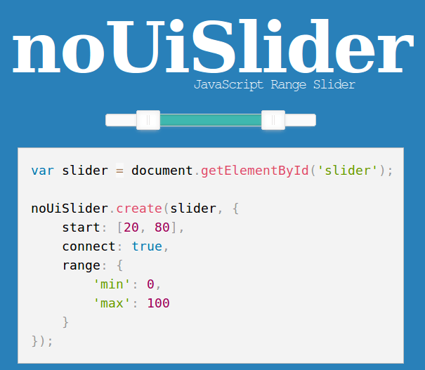 noUiSlider example image