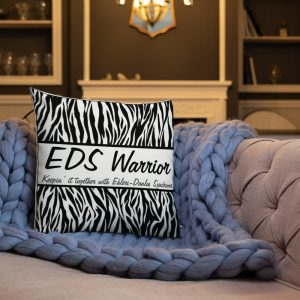EDS Warrior Premium Throw Pillow