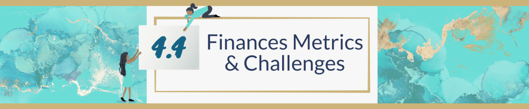 4.4 Finances Metrics & Challenges