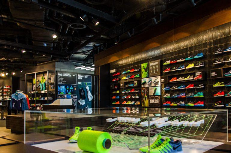 La nouvelle boutique Nike, tournée vers le futur