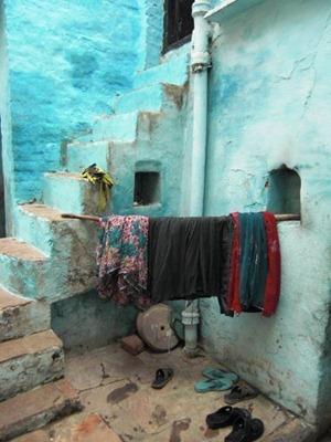Remote corner of Varanasi
