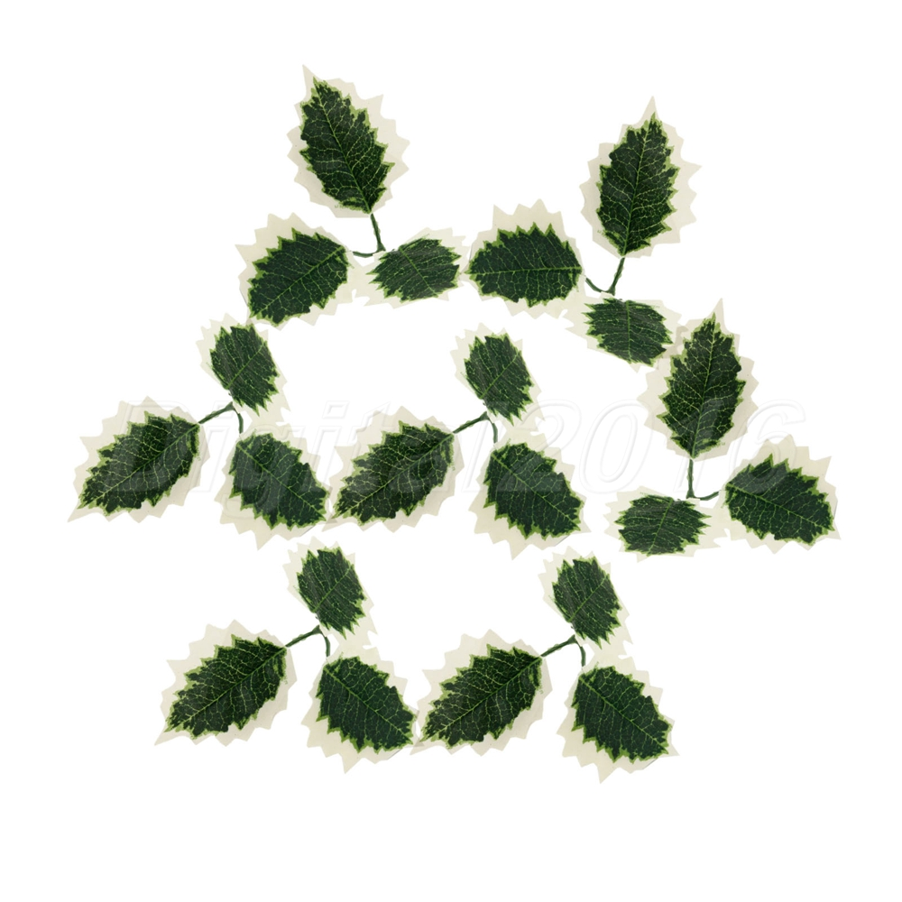 10pcs Decoration Diy Artificial Flower Leaf Craft Fake
