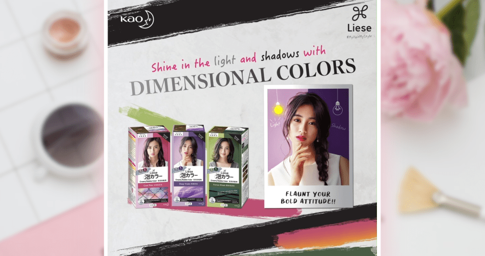 kao-liese-dimensional-colors-influencer-marketing-campaign-malaysia