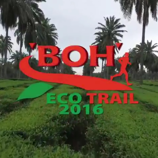 Event Coverage of BOH EcoTrail Run 2016 - Event Videos